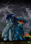~Stormy Lovers~ + SPEEDPAINT