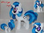 Pony Plush Vinyl Scratch \ DJ Pon3