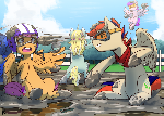 [Commission] Mud Fight