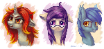 Pony heads #5 (commission)