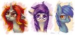Pony heads #5 (commission)