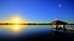 Mane 6 - Sunrise on the Lake