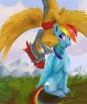 A Kiss for Rainbow Dash