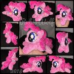 MLP 6 inch mini Glittery Pinkie Pie .:Commission:.