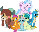 MLP Vector - Friendship Six
