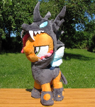 My little plush Babs Changeling