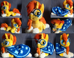 Sunburst plush mlp
