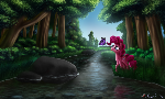 Pinkie Pie Walking