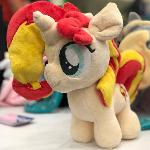 Tiny Sunset Shimmer for Bronycon