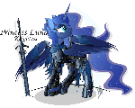 Princess Luna - Abyss armour