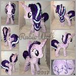 MLP 13 inch Starlight Glimmer plush .:Commission:.