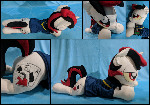 Blackjack - 36 inch laying plush
