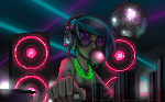 [MLP] - Vinyl Scratch Desktop Wallpaper