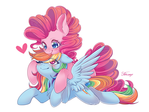 Rainbow Dash and Pinkie Pie