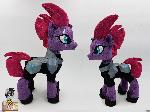 Tempest shadow plushie with armor