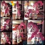 MLP 13 inch Extra Poof Pinkie Pie w/ Socks Plushie