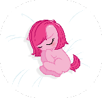 Baby Pinkie Pie -sleeping-