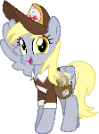 MLP Vector - Derpy Hooves