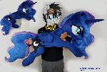 Lifesize Princess Luna comission
