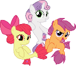 MLP Vector - Cutie Mark Crusaders #5