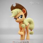 Applejack Poster Render