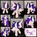 MLP 10in Alicorn Aria Blaze Plushie ::Commission::