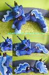 Life-size (laying down) Princess Luna plush