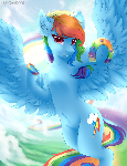 Rainbowdash + Speedpaint