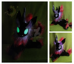 Custom plush Nirik Glow n'the dark