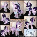 MLP 15 inch Alicorn Princess Starlight .:Comm:.