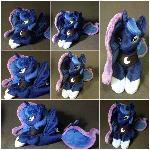 Plushie Princess Luna Mermaid - Sea Pony