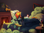 Rainbow Dash and Fleetfoot