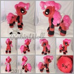 MLP 10 inch Pinkie Pool Plushie w/ Accessories