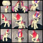 MLP 13 inch Moondancer plushie - BronyCon 2016