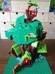 Lego MOC golden oak library mlp fim
