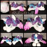 MLP 8.5 inch Beanie Flurry Heart .:Commission:.