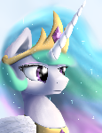Royal Portrait - Princess Celestia (redo)