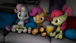 Cutie Mark Crusaders playing a game [SFM]