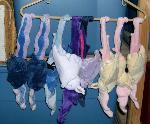 Assorted batpony plushes