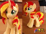 Sunset Shimmer plush V3
