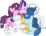 AU Mane six happy