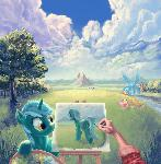 Painter in Equestria