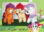 My Little Pony Cutie Mark Crusaders Plushies