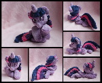 Baby Princess Twilight Sparkle Plush - Commission