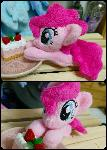 My little pony Pink Pie custom plush