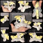 MLP 6 inch mini Derpy Hooves beanie {Commission}