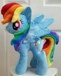 mlp plushie commission RAINBOWDASH