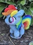 Tiny Rainbow Dash