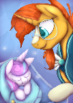 MLP Entry Sunburst and flurryheart