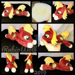 MLP 8.5 inch Big Mac Beanie Plushie .:Commission:.